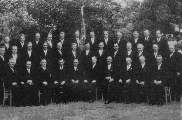 Vereinsfoto MGV 1955